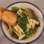 Corn and Kale Soup