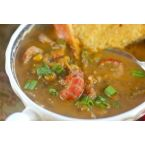 Curried pumpkin and crawfish bisque
