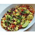 Black Bean & Corn Salad with Chipotle Honey Vinaigrette
