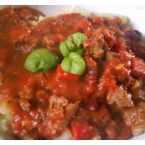 Beans And Tomatoes Chili Con Carne