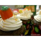 Chocolate-Pumpkin Cupcakes