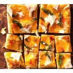 Buttetnut Squash Tart with Chile-Honey Drizzle
