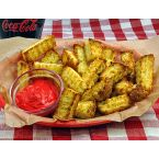 Pound Cake Fries with