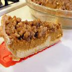 Pumpkin-Cream Cheese Streusel Pie
