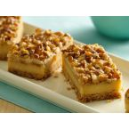 Betty Crocker Praline Crumb Caramel Cheesecake Bars