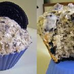Oreo Cookies and Cream Cupcakes
