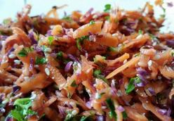 Carrot Slaw with Carawey