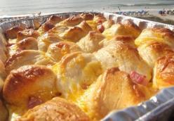 Ham & Cheese Breakfast Bake