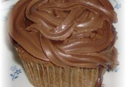 Chocolate Peanut Butter Sour Cream Cupcakes - Gluten Free