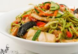 Spicy Seafood Noodle Salad