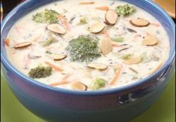 Broccoli Wild Rice Soup