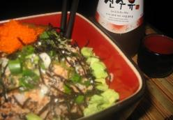 Spicy Tuna Ghetto Sushi Bowl