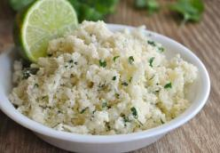 Paleo Cilantro Lime Cauliflower Rice