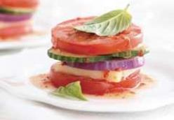 Garden Vegetable Salad Stacker