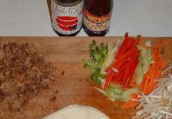 Moo Shu Pork Wraps