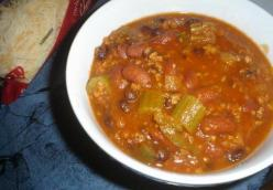 Gabe's Chili (vegetarian and gluten-free)