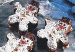 Snowmen Brownies
