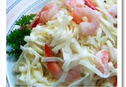 Tyler Florence' s Shrimp Scampi with Linguini