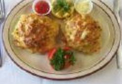 Chicken Cakes with Rémoulade Sauce