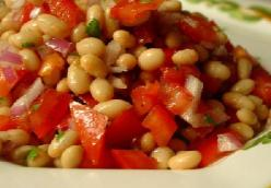 White Cannellini Bean Salad