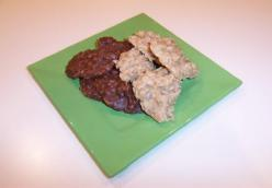 Boiled Oatmeal Cookies