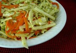 Jicama Slaw with Roasted Poblano Dressing