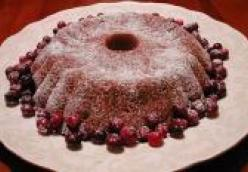Cranberry-Walnut Morning Cake