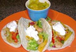 Soft Shrimp Tacos