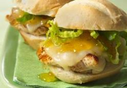Grilled Spicy Chicken Sandwiches