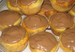 Kinder Ferrero chocolate cupcakes