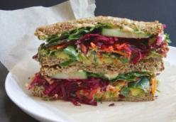 The Ultimate Beet Sandwich