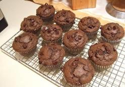 Mocha Chocolate-Chip Muffins