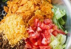 Austin's Taco Salad Bar with Lily's Homemade Salsa