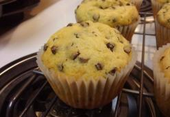 Mr. Breakfast's Chocolate Chip Muffins