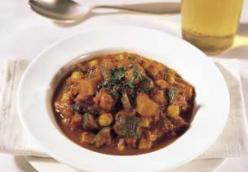 Moroccan-Spiced Vegetarian Chili
