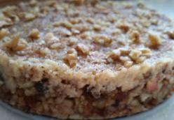 Apple Pie Crumble raw vegan