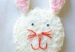 Easter Bunny Cake – Easy Homemade Recipe