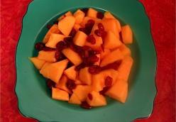 Here Comes Christmas Fruit Salad
