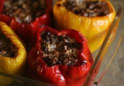 Mom's Stuffed Bell Peppers
