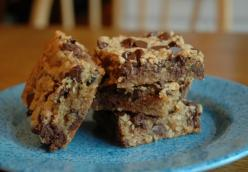 Chocolate Oatmeal Brownies