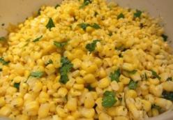 Buttery Herbed Corn