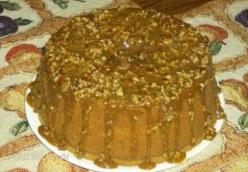 Butterscotch Poundcake with Butterscotch Icing