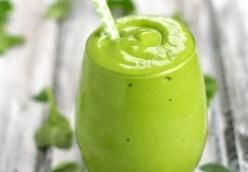 Roasted Rice Green Tea Smoothie