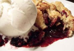 Kimberly's Black Raspberry Apple Pie