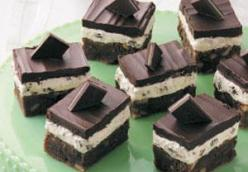 Luck O The Irish Mint Brownies