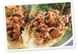 Hazelnut Asian Lettuce Wrap