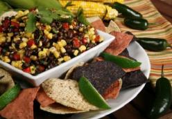 Black Bean and Red Bell Pepper Salad