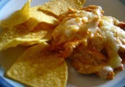 Cajun-Buffalo Chicken Wing Dip