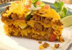Mmmpossible Taco Pie