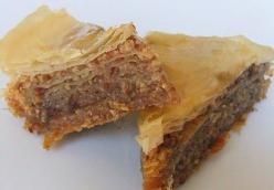 Honey Bacon Baklava